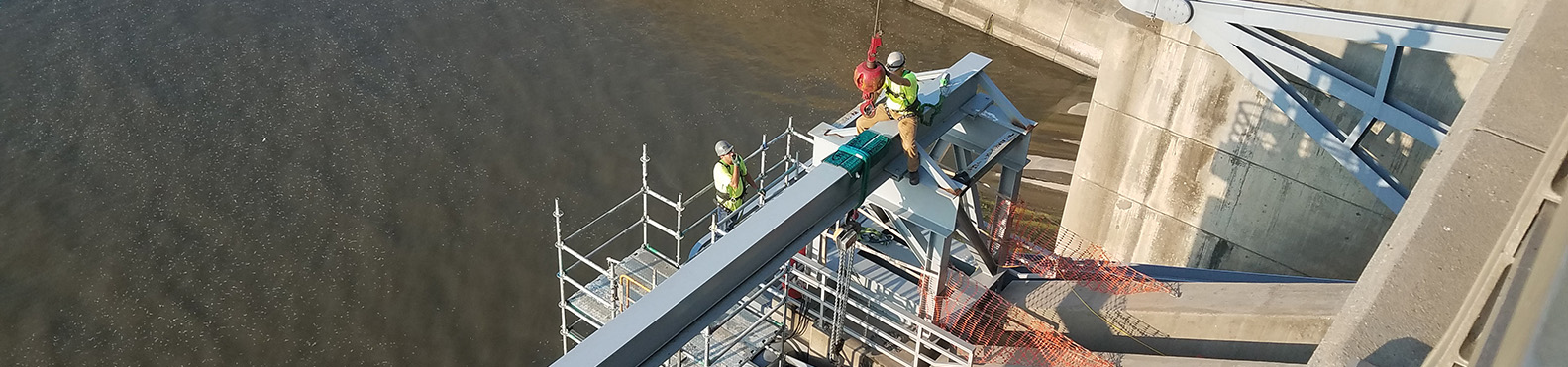 John Redmond Dam Trunnion Rehabilitation