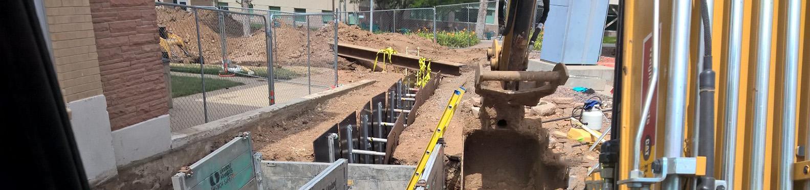 Colorado School of Mines Steam Line Repair