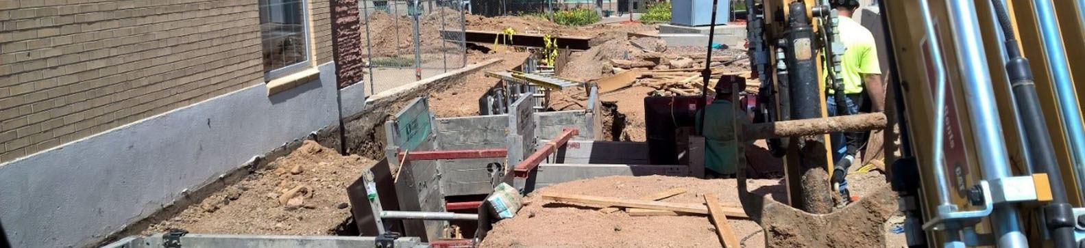 Colorado School of Mines Steam Line Repair