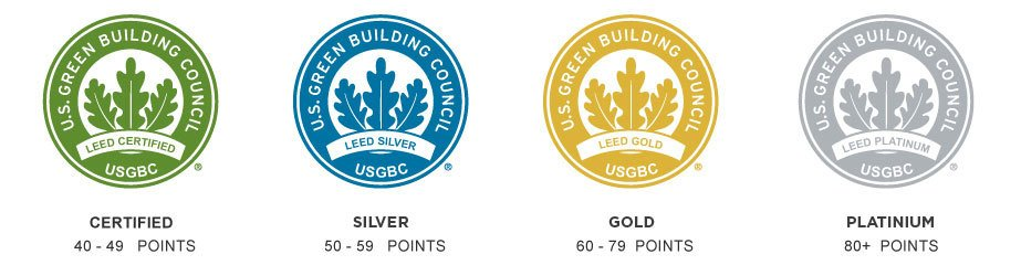LEED Certification Badges