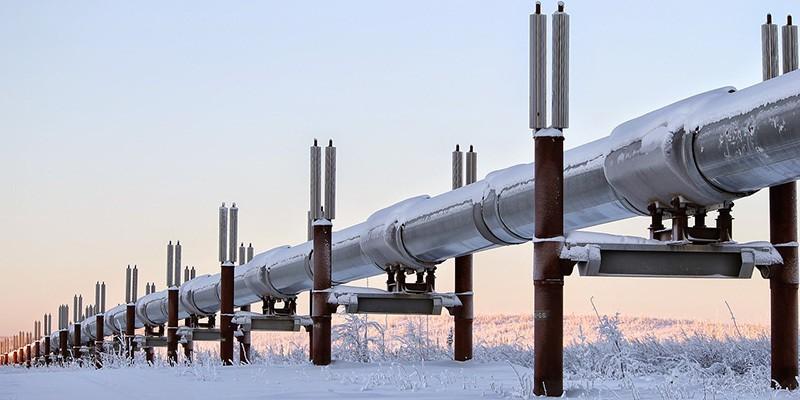 Famous Alaska Pipeline
