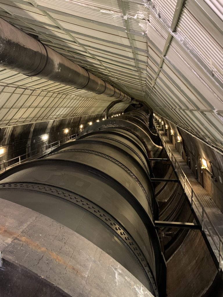 Lower Nevada Penstock Belly Drains Project