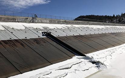 Gracon has been Awarded Crystal Creek Dam Improvements