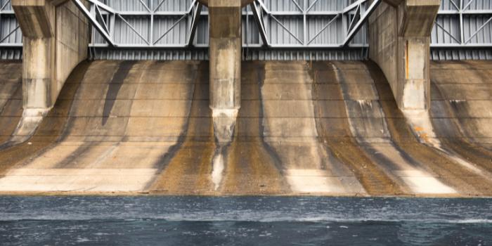 different types of dam gates